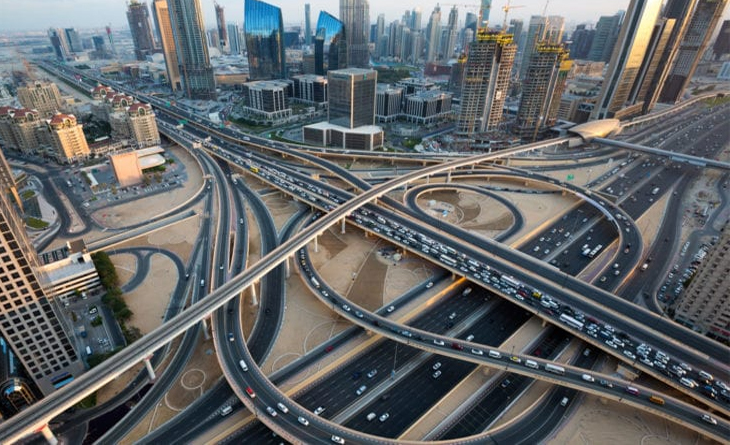 UAE on the road of growth